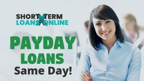 Online Payday Loan Same Day Deposit